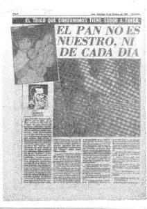 EL PAN NO ES NUESTRO, NI DE CADA DÍA (1), entrevista a Dante Javier Urbina