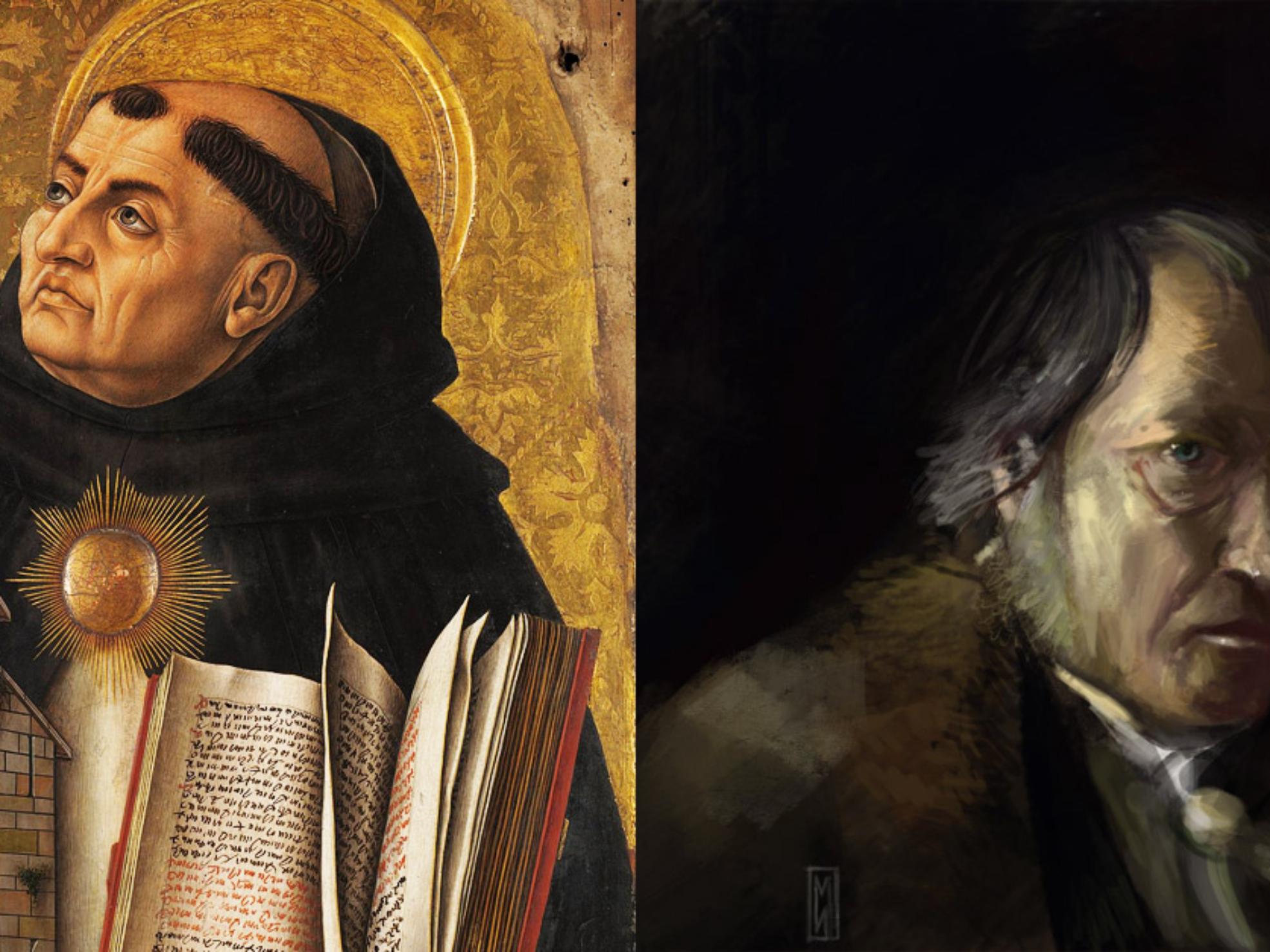 Santo Tomas vs Hegel